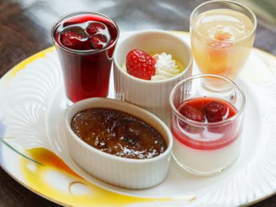 ウェスティンホテル東京『ザ・テラス』ランチブッフェのデザート