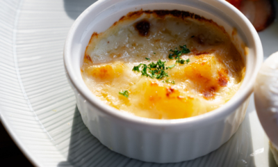 厚チーズのポテトグラタン!